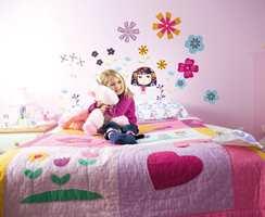Blomster fra Inspirasjon og Storeys til små prinsesser!