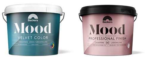 <b>TOPP KVALITET: </b>Mood består av flere malingstyper med ulike egenskaper og bruksområder. Mood Velvet Color og Mood Professional Finish er de første i rekken av lanseringer i 2018.