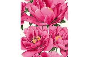 50 kroner fra hver solgte tapetrull av designet Bloom fra Fiona går uavkortet til Kreftforeningen i forbindelse med årets Rosa sløyfe-aksjon.