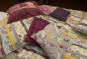 Heller ikke den kjente tekstilleverandøren Kenzo er redd for å kombinere et utall av farger.
