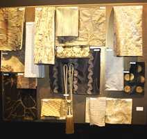 Elegante tekstiler i mange veveteknikker.