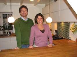 Vi ville ha et mer funksjonelt hus med lysere og mer moderne interiør, sier Anniken Elle og Per Ringnes. En total oppussing skapte drømmehuset midt i Oslo.