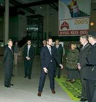 Bygg Reis Deg fyller 50 år. Her Kronprins Haakon ved åpningen.