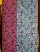 Rosa, blått - nye farger, gamle mønstre.