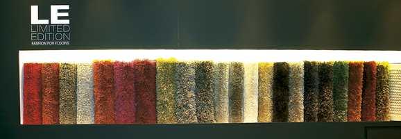 I teppebransjen er langhårete flosstepper mest trendy.