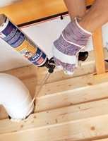 En lufttett grunnkonstruksjon setter en stopper for mye av radongassen som kan sive inn i boligen.