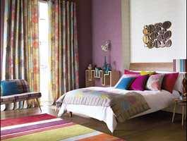 Mix og match med farger og mønstre til et lekkert og lekent interiør!