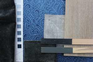 <b>KOMBINASJON:</b> Ton-i-ton og ensfarget i ulik tekstur skaper en rolig og helhetlig basis. (Foto: Bjørg Owren/ifi.no)