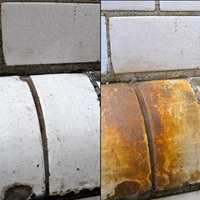 rust før og etter spray