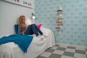 Et barnerom, soverom eller entre kan være både lekkert og praktisk med linoleum på gulvet.