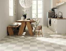Til gulvet - trendy, tidløst, tøft, elegant…