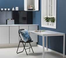 <b>LØFT:</b> Veggplater er perfekt for å gi kjøkkenet, eller hvilket som helst annet rom, et løft. (Foto: Forestia)