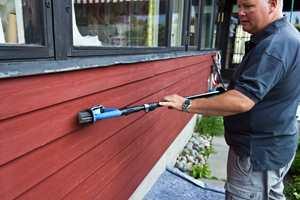 <b>STÅLBØRSTE:</b> Forlengerskaft kan brukes til de fleste oppgaver og verktøy, som for eksempel stålbørste.