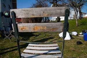 Slitt treverk betyr ikke slutten for stolen.