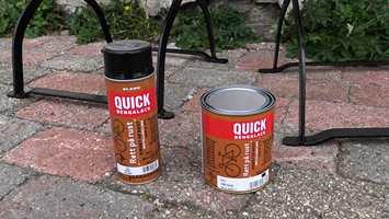 Rett på rust har rustbeskyttelse, grunning og toppstrøk i ett.