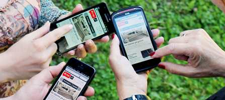 Nå kan du lese ifi.no på mobilen. Med den nye mobilløsningen er det enklere å surfe mellom de ulike artiklene.