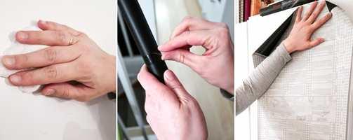 <b>FØRST:</b> 1. Vask, 2. åpne pakken og 3. mål opp.