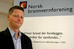Direktør Dagfinn Kalheim i Norsk Brannvern Forening