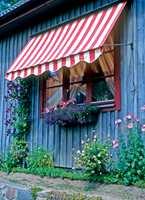 <b>REN OG PEN:</b> Med en ren og pen markise løftes helhetsinntrykket av boligen. (Foto: Alfort)