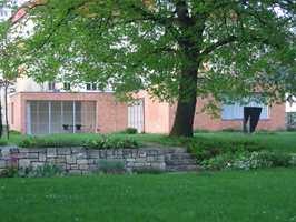 Den tyske arkitekten Mies van der Rohe var minimalist. Her var ikke noe overflødig. Det var han som skapte slagordet «Less is more».