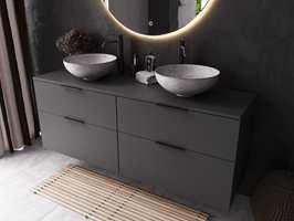 STEMINGSSKAPER: Skap den rette stemningen med kunstig lys. Riktig og strategisk plassering av lys kan også gjøre at trange, mørke baderom oppleves som større. Mange lyskilder – for eksempel speil med innebygget lys bak – gir mange muligheter til å lyssette rommet på forskjellige måter.