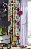 <b>GUIDE:</b> Gardinguiden fra Fargerike er full av nyttige råd og tips om hvordan man kan skape stil og atmosfære med tekstiler. (Foto: Sveinung Bråthen, Styling: Christine Hærra)