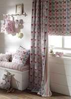 <b>GOD SØVN:</b> Skikkelige gardiner på barnerommet hjelper på søvnen til misntemann. (Foto: Borge/Clarke & Clarke)
