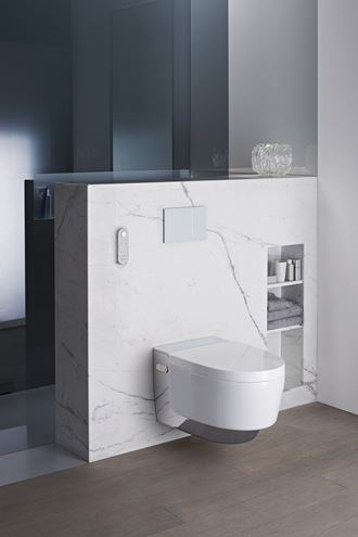 For oss er god design det samme som at produktet er brukervennlig og har et tiltalende ytre, sier Wenche Sydhagen i Geberit.