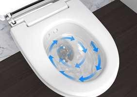 <b>RENGJØR:</b> Turboflush er en relativt ny måte å skylle doskålen på etter bruk, som gjør rengjøringen av skålen mer effektiv og nesten lydløs.