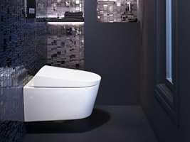 Glem meter på meter med toalettpapir - rent vann holder lenge!