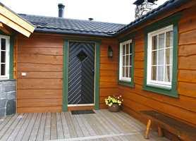 Hytte 2 - bruk av villmarkspanel.