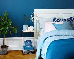 I årets viktigste rom er det lov å bruke farger. (Foto: Beckers)
