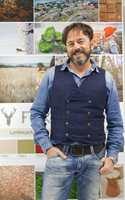 <b>DESIGNSJEF: </b>Gerflors designteam ledes av Gino Venturelli, som har bakgrunn fra design i keramikk. I vinylproduktene forsøker de å tolke ulike materialer og uttrykk, ikke imitere dem.