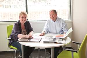 Markedssjef Lene Lillejord og daglig leder Tore Pedersen er meget fornøyd med resultatet.