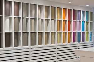 <b>SHOWROOM: </b>Ved hovekontoret i Frankrike har selskapet et stort showroom som blant annet brukes til møter og fremvisning av nye produkter.