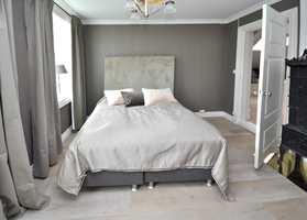 Familien overtok i november 2012, og hadde pusset opp huset ferdig til 17. mai året etter.