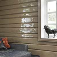 <b>BLANK: </b>Det blir mye liv i en blank veggflate på grunn av lyset som reflekteres.