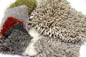 Rufsetepper i ulike materialer og bestselgende farger fra Interiøragenturer J. Sveen og Kasthall.
