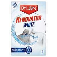 <b>TIDLIG NOK</b> Ta frem juleduken i tide, så når du å vaske den helt hvit igjen før julekvelden – Dylon Renovator White fra Alanor. (Foto: Alanor)