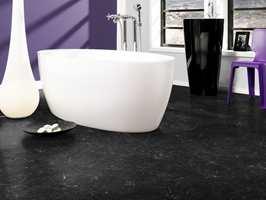 Våtromsvinyl av god kvalitet produseres av blant annet Tarkett, Forbo Flooring og som her Gerflor.