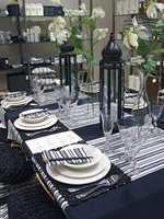 Server med stil. Borddekning i sort på langs og tvers fra Villa Collection... Foto: Chera Westman/ifi.no