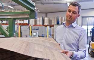 Henrik Andersson er salgssjef for Golvabia i Norge.