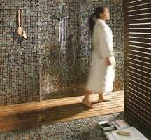 Mosaikk holder fortsatt stand. Disse er fra Golvabia.