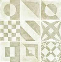 Golvabia fører flisene i Geo-serien, som har et geometrisk uttrykk.