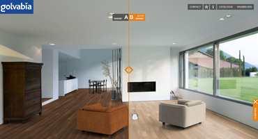 Golvabia tilbyr også en mulighet til å sammenligne to gulv.