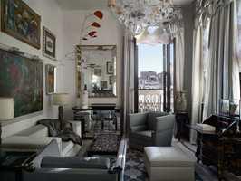 Guggenheim-suiten huset den ikoniske hotellgjesten Peggy Guggenheim.