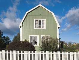 Vil du spille på lag med naturen og tradisjoner; velg grønt med en tydelig helning mot gult. Bilde fra Nordsjö.