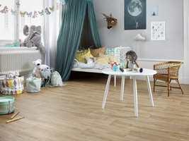 <b>VIKTIG VALG:</b> Gulvet på barnerommet bør velges med omhu.