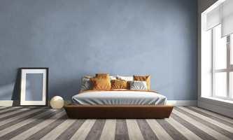 <b>MØNSTERGLEDE:</b> Nordmenn begynner å bli mer komfortable med å velge farge – både på gulv og vegger. (Foto: Tarkett)