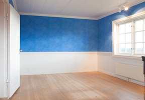 Det blå barneværelset før.
